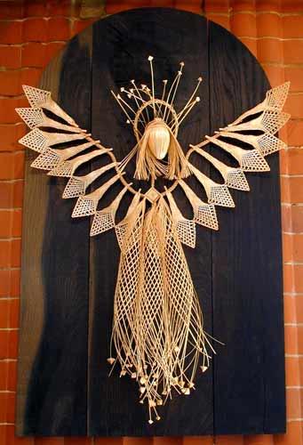 Vera Soldatova - Belarus - decorative angel panel