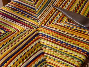 rush chair detail