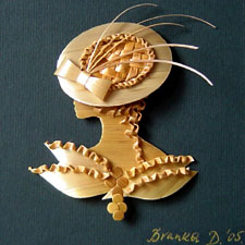 Straw Art hat Branka Dulic