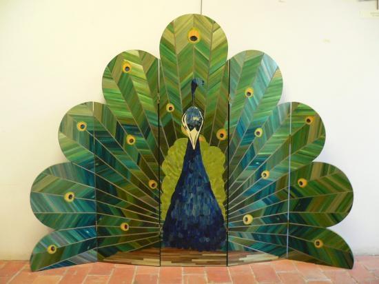 Gerard-Morin Peacock Room-Divider