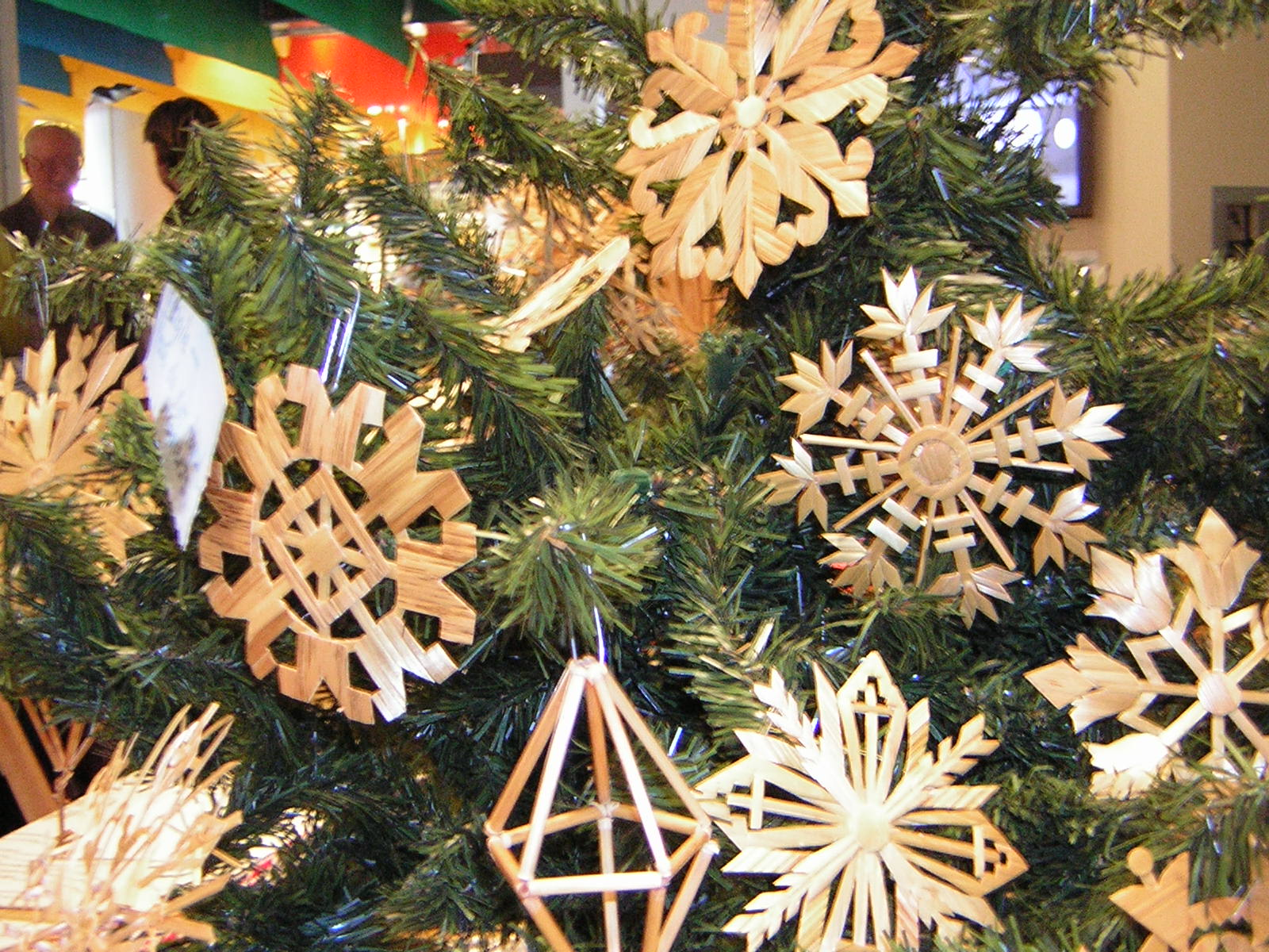 Lithuanian straw ornaments