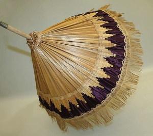 straw parasol