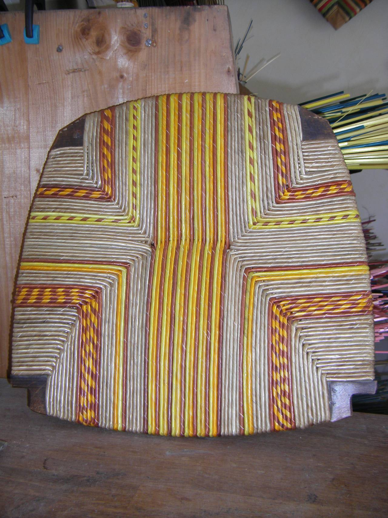 Rush chair repair, rush chair seat design, chair upholstery