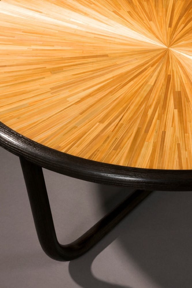 table by French craftsman Nicolas Aubagnac