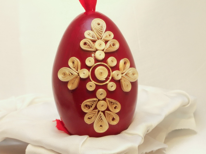straw quilling, straw egg, straw art ,  Mirjana & Edvard Kirbus, The Straw Shop