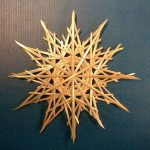 Christmas straw stars, wheat supplies, craft straw
