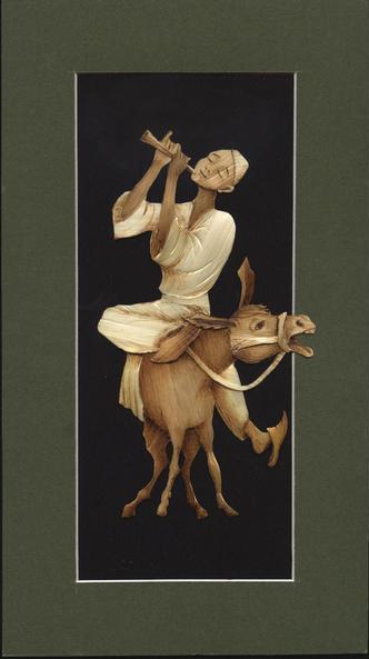 Atabek Yuldashev flute and donkey