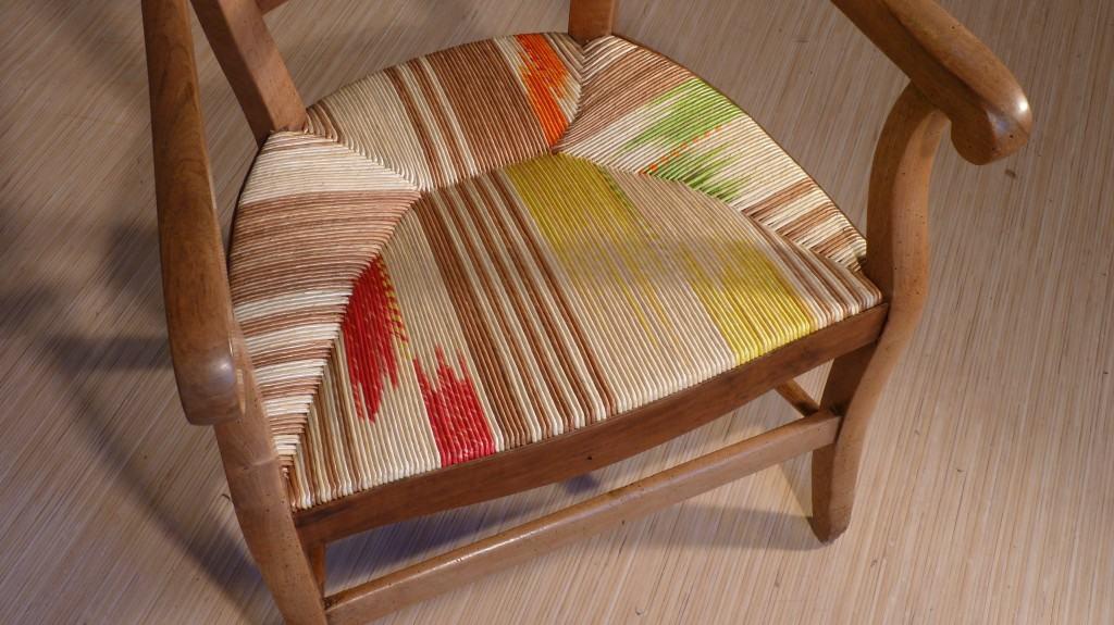 Denis Guerin chair detail