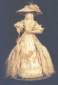 corn doll, straw art, wheat art, corn dolly, kern baby