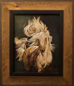 Lyudmila Kushnir, straw applique, Ukraine art, Ukraine straw art, straw artist, The Straw Shop
