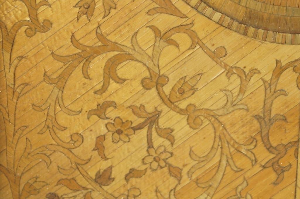 Inlaid straw work,1700s straw work, the straw shop collection, antique straw ,