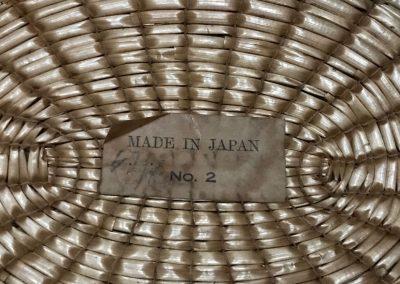 Japanese straw Boater, Yeddo, Jeddo, The Straw Shop