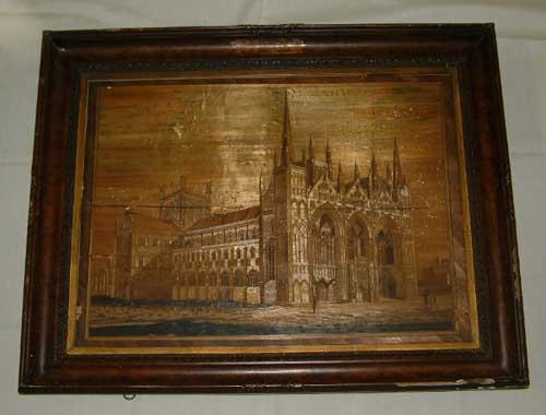 Jean De LaPorte Peterborough Cathedral , Courtesy Peterborough Museum Collection