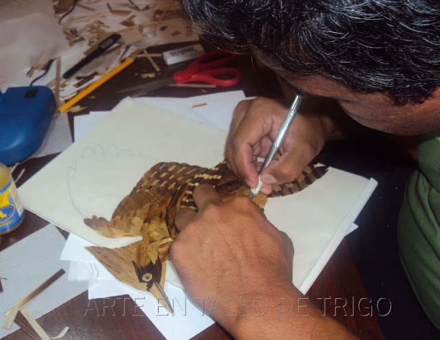 Jorge Huerta at work