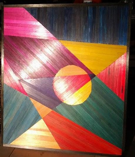 Nadja Tromivic aka Nadia Mitrovic CH abstract courtesy the artist