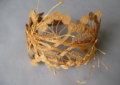 Nathalie Seiller Dejean, Rumplestiltskin straw, Rumplestiltskin, Rumplestiltskin Tiara, Straw crowns, The Straw Shop