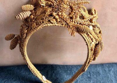 Antique straw millinery, Nathalie Seiller DeJean, The Straw Shop, straw fashion, straw crown