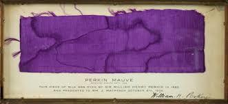 Perkin Mauveine in frame