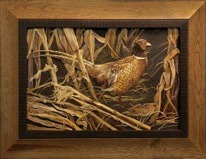Ludmila Kushnir, Ukraine straw art, straw art, straw applique, The Straw Shop
