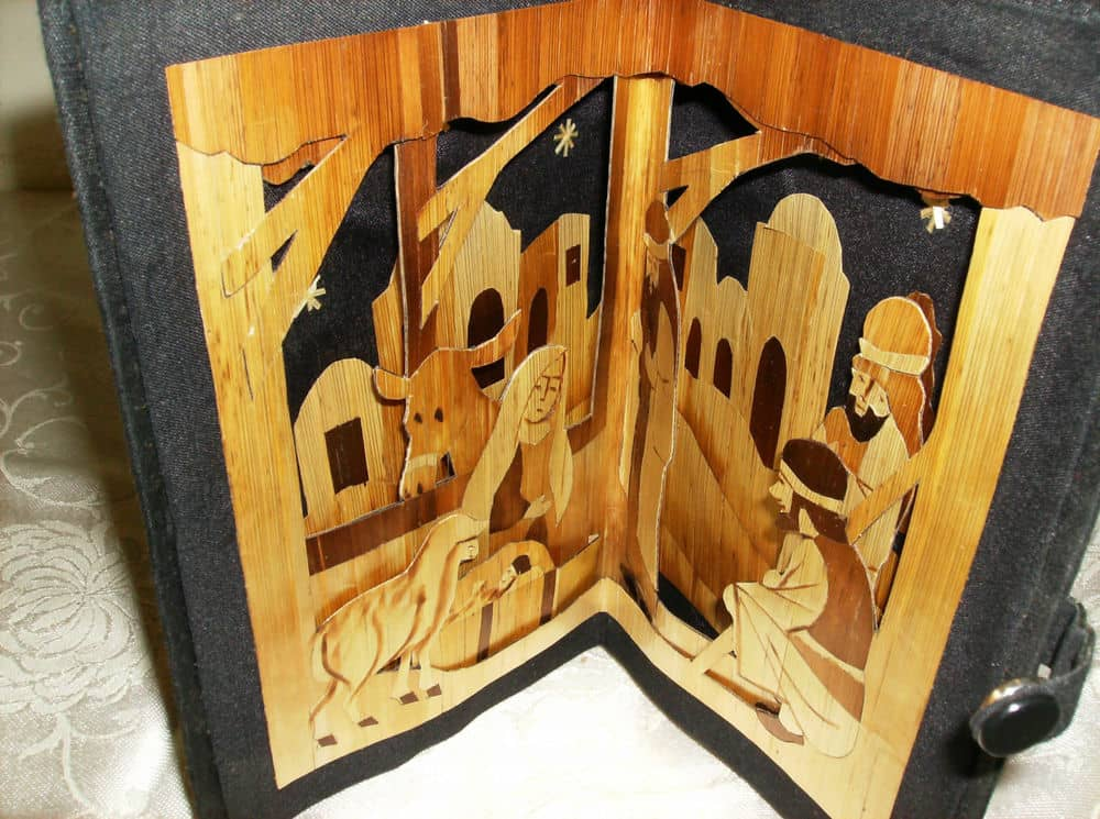 Pyrography Nativity Bangladesh