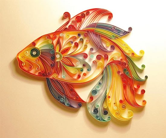 straw quilling