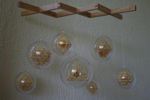 Rasa Družienė miniature sodas display, courtesy The Straw Shop Collection