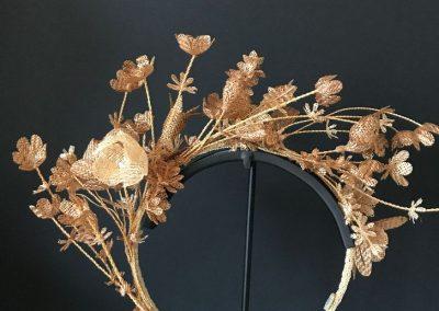 Nathalie Seiller Dejean, Rumplestiltskin, Rumplestiltskin straw, Straw Crowns, Swiss Straw, Straw Art, The Straw Shop