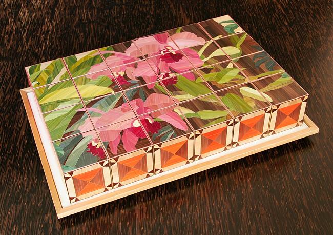 Sandrine Viollet straw-marquetry-award-atelier-viollet