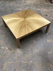 Santiago Salgado starburst table, Courtesy Santiago Salgado Inc
