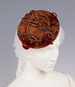 1855 Italian hat Courtesy Brooklyn Museum Costume Collection at The Metropolitan Museum of Art, Gift of the Brooklyn Museum, 2009; Brooklyn Museum Collection
