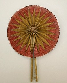 Straw fashion, straw fan, straw embroidery, wheat embroidery thread,