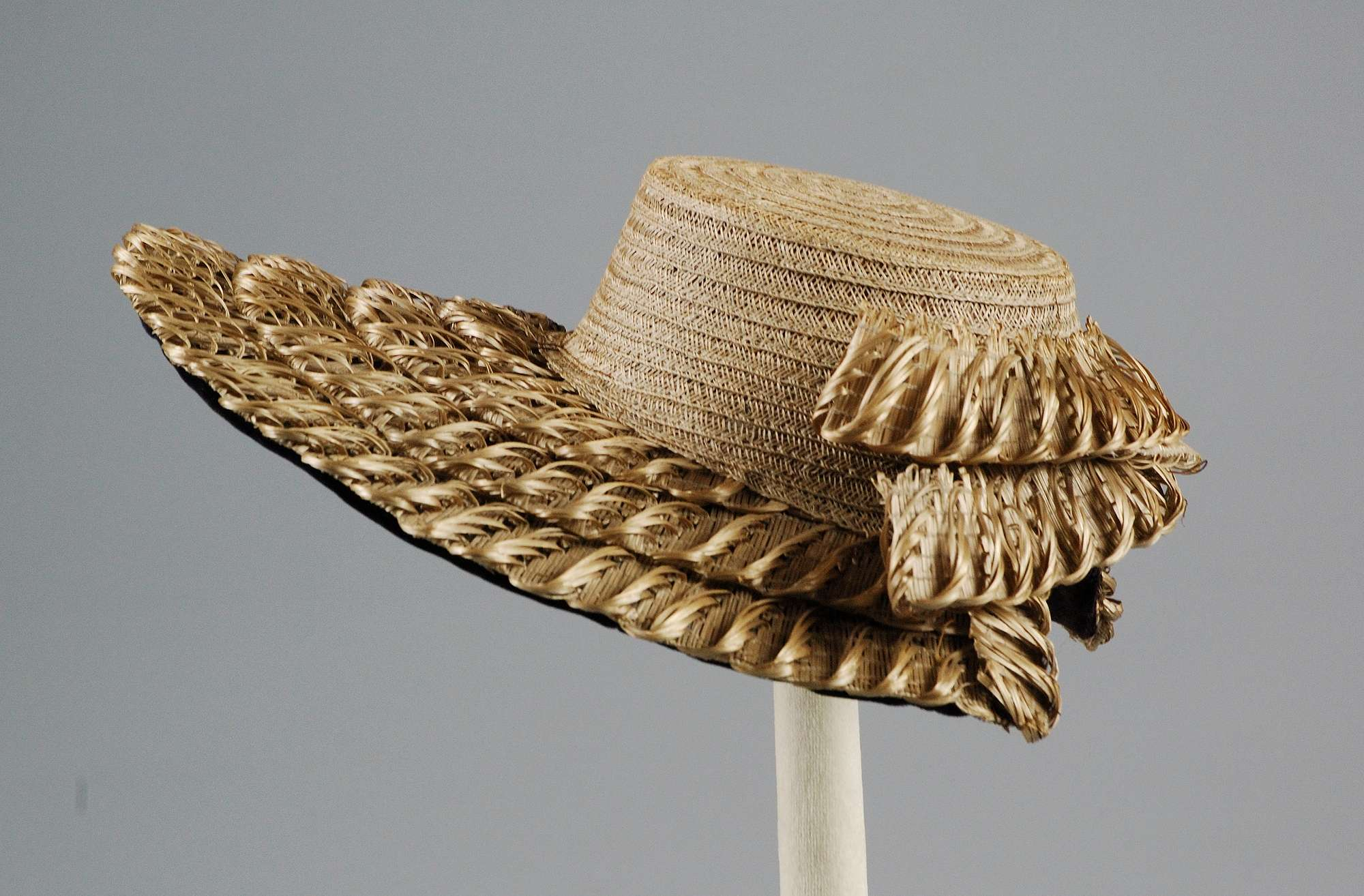 American hat circa 1875 Courtesy Metropolitan Museum of Art