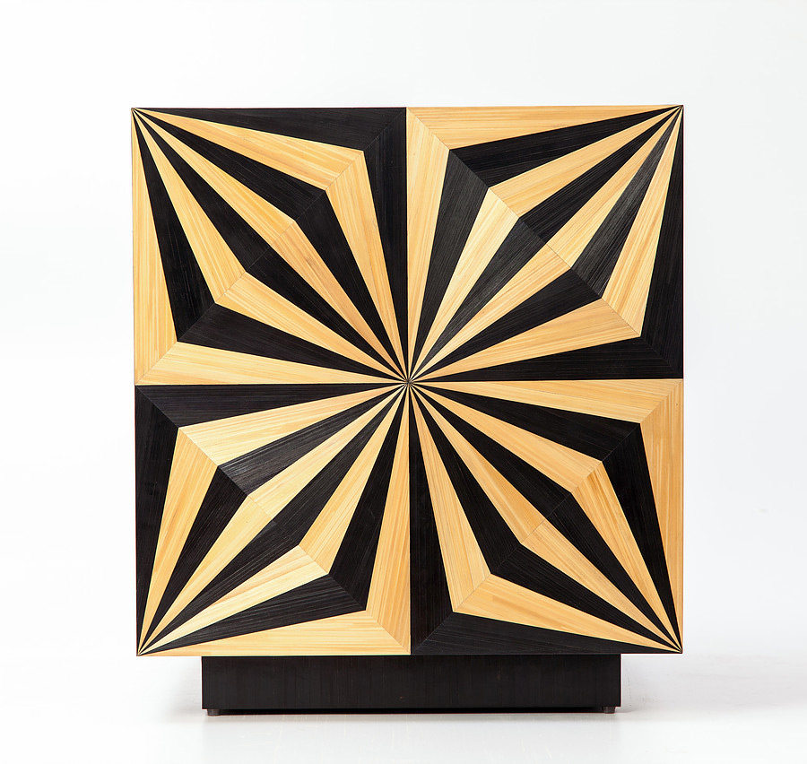 Straw Marquetry by Arthur Seigneur