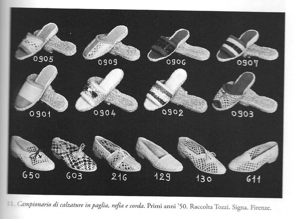 Straw Shoes 1950s Italy