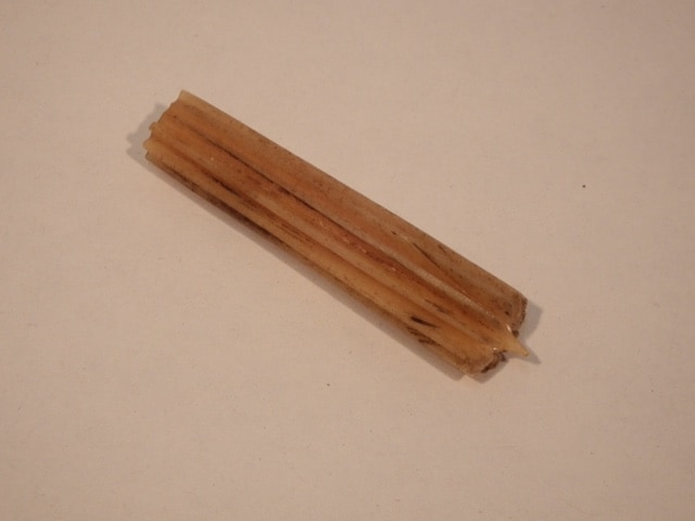 Swiss Bone Straw Splitter, Courtesy Veronica Main, Copyright The Straw Shop, straw tool, straw splitter, bone splitter, bone straw splitter, antique straw tools, early tools, handmade tools, 19th century tools,
