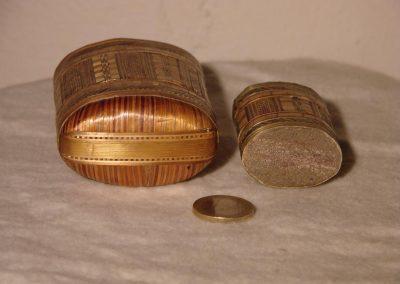 Proantic, Vesta with straw, match box with straw, The Straw Shop,