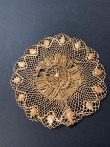 Swiss straw, straw lace , Straw embroidery, The Straw Shop, American Museum of Straw Art