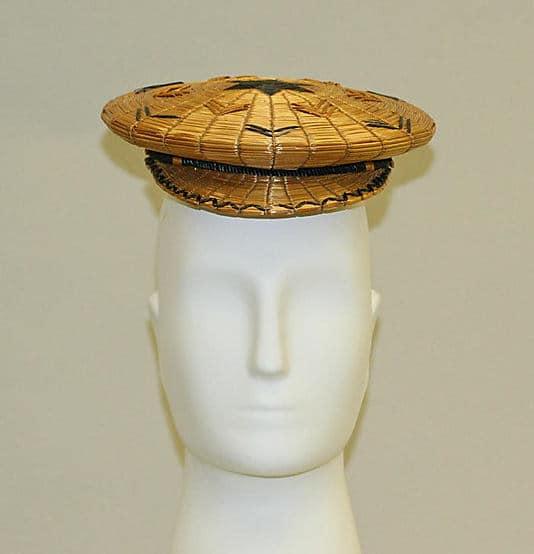 mans straw hat , rye straw fashion