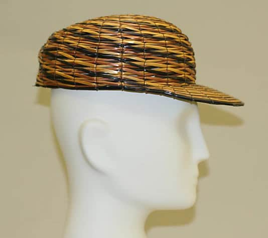 -woven-Italian-rye-hat-ca-1930s-courtesy-of-metmuseum.org straw hat straw fashion rye straw fashion
