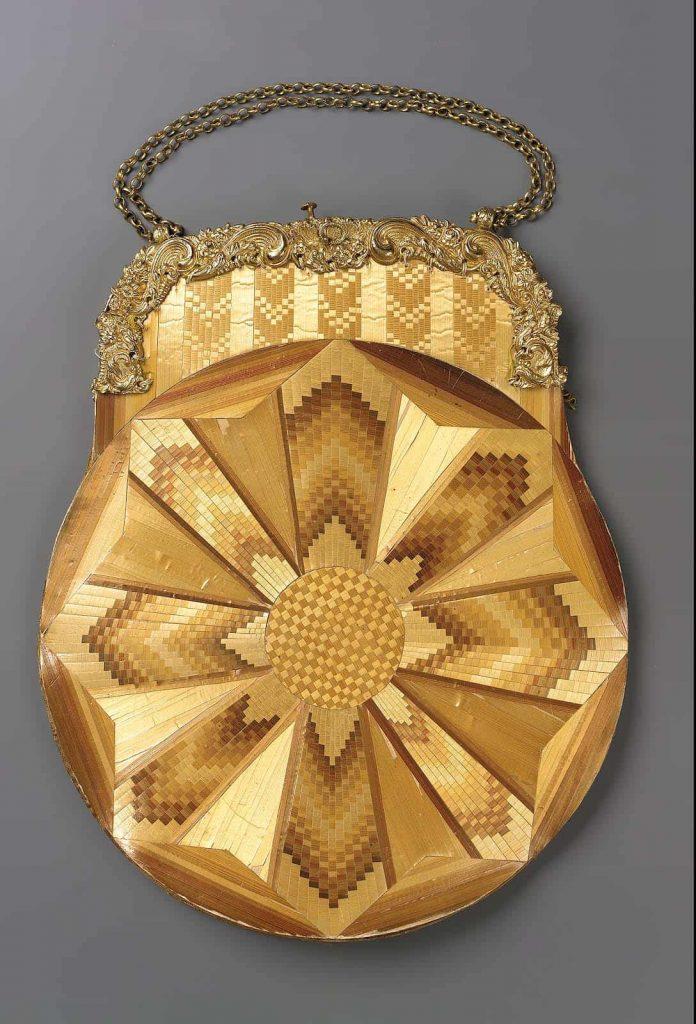 Straw purse 1820-1850 Courtesy Museum of Fine Arts Boston