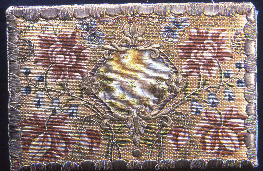 straw embroidery, straw purse, lettercase, Metropolitan Museumof Art, The Straw Shop