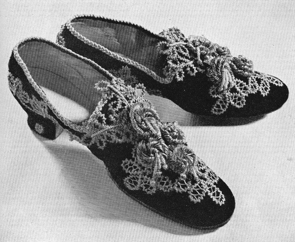 Straw shoes April 13 1941 Freiamt Switzerland, courtesy G Rodel, straw decorated shoes, straw shoes, straw art history, vintage straw shoes, antique straw shoes, The Straw Shop