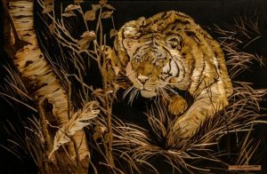 Lyudmila Kushnir, Ukraine straw art, straw art, The Straw Shop