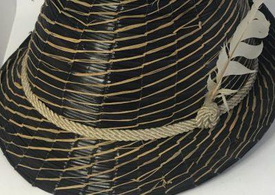 Genuine Yeddo, Yeddo, Yeddo hat, straw Fedora, Italy straw, straw fashion, The Straw Shop