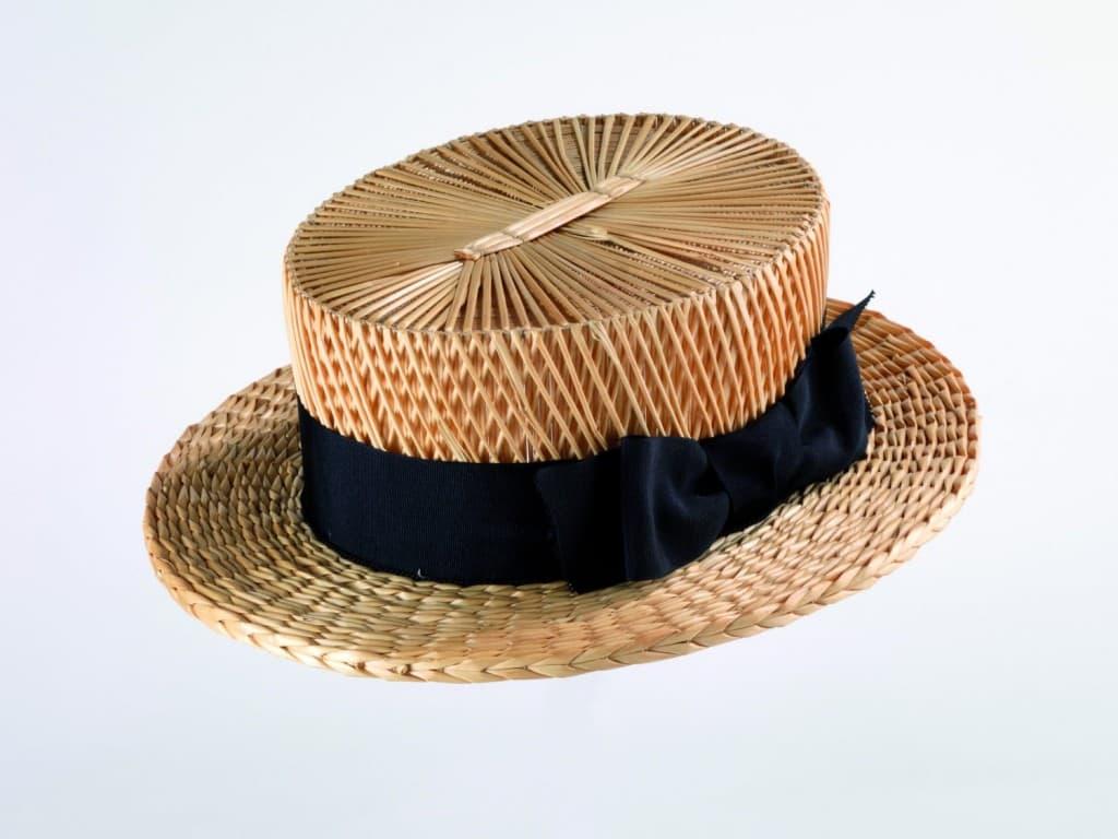 Yeddo hat courtesy strohmuseum im park Switzerland