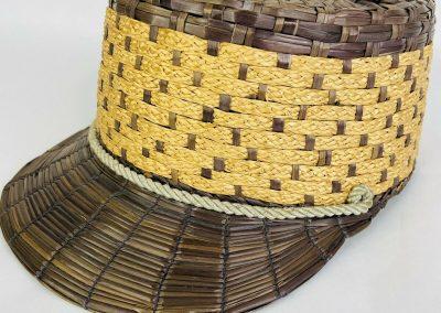 Yeddo hat, yeddo cap, straw knotted, straw knotted hat, mesn straw fashion, The Straw Shop