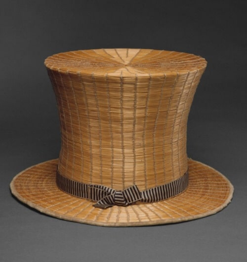 Yeddo top hat, knotted hat,