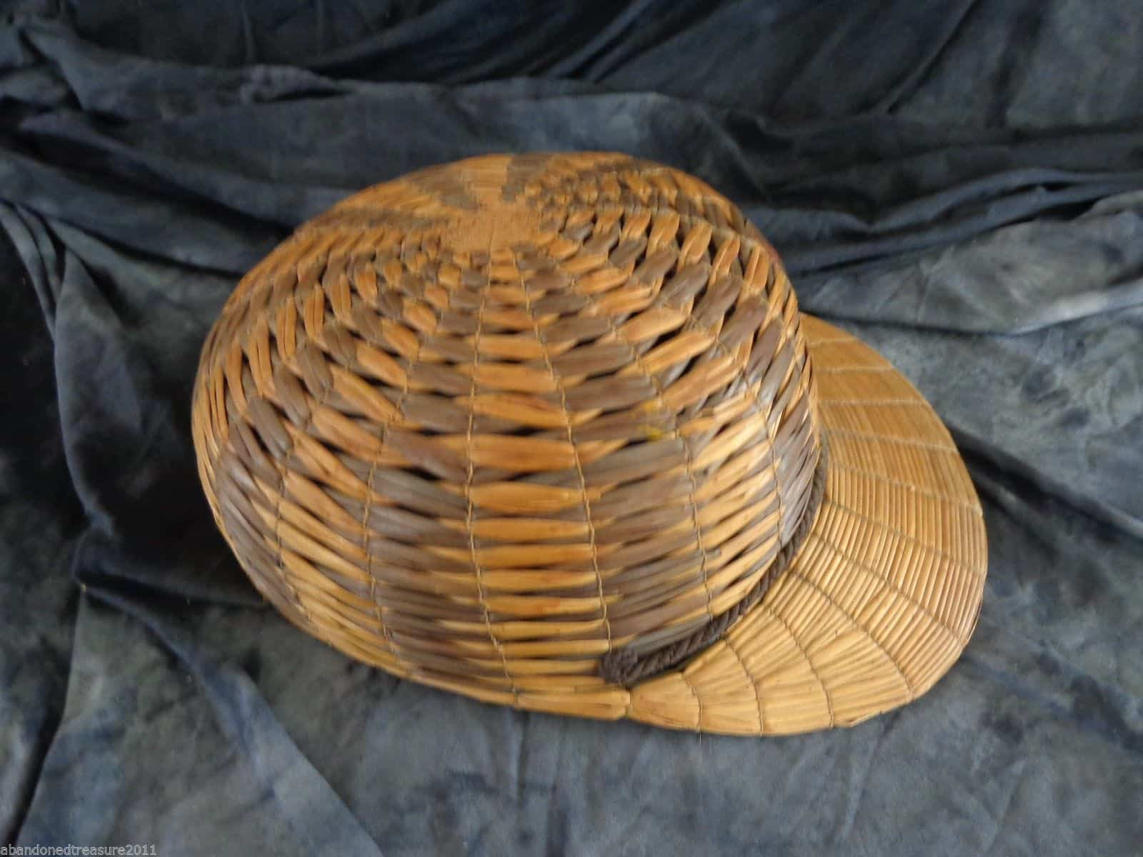 tied straw hat, Yeddo straw hat, Italian straw hat, men's straw fashion