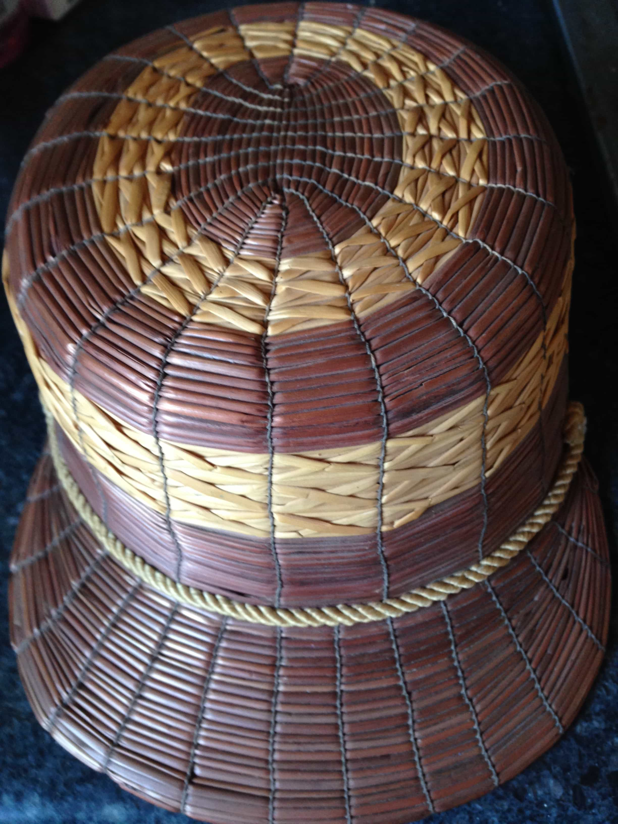 yeddo hat brown and natural courtesy The Straw Shop Collection